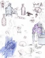 excerpts from sketchbook